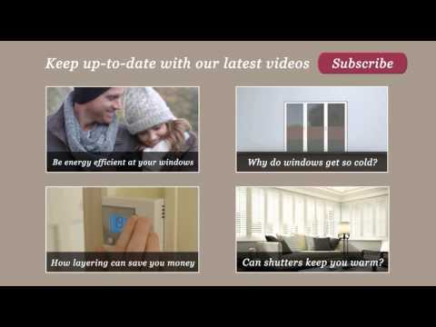 Energy saving tips: Honeycomb Thermal Pleated blinds