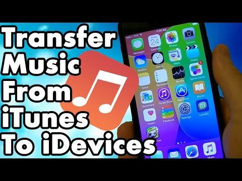 Transfer Music From iTunes To iPhone iPad iPod Touch And Apple Watch