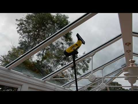 Washing the Conservatory Roof - Karcher WV5 Premium Window Vac