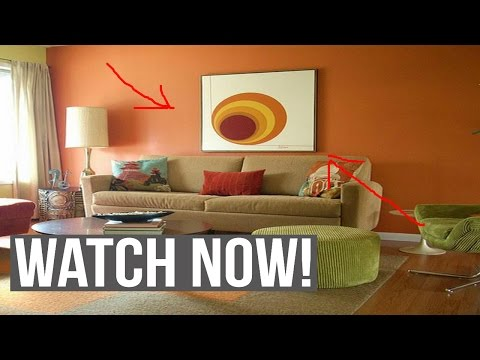 Choosing wall paint colors for living room