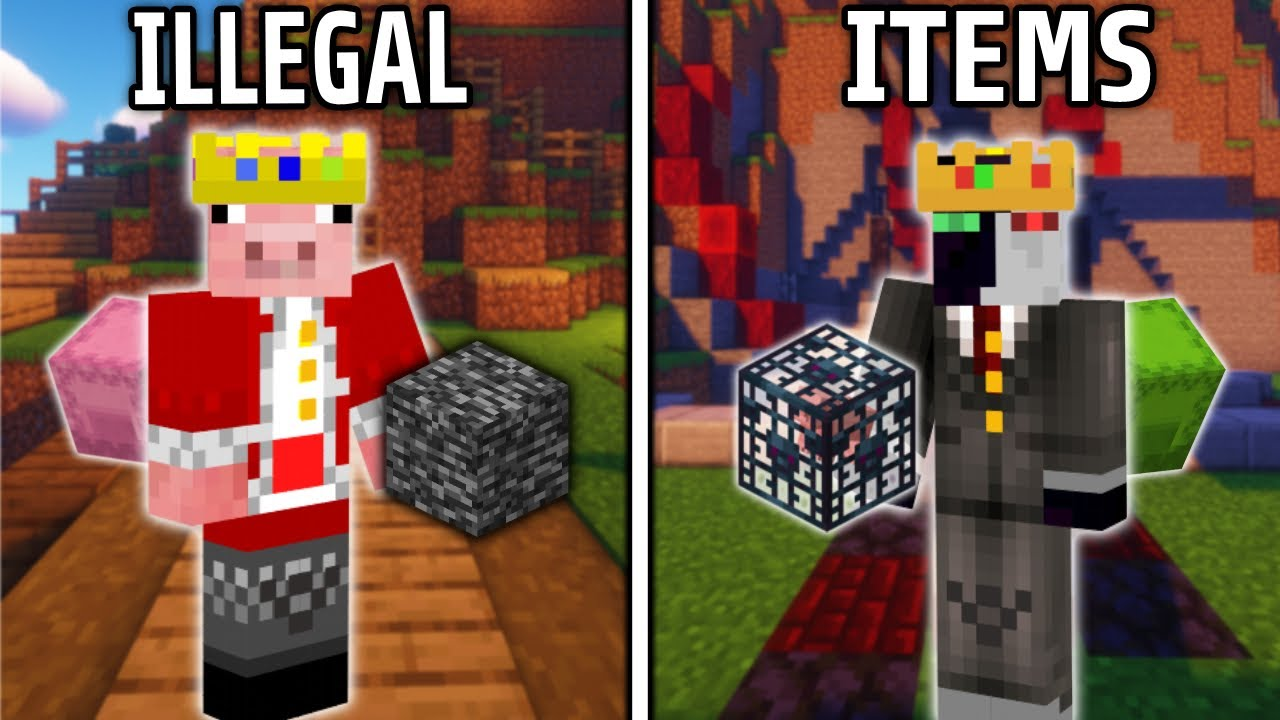 Dream SMP'S History Of Illegal Items
