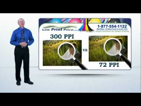 What is PPI vs DPI? 300 PPI is great for printing.