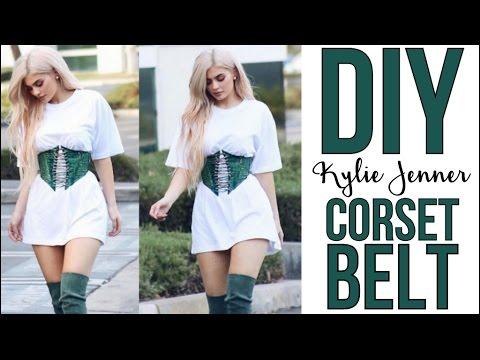 DIY: Kylie Jenner Corset Belt