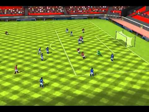 FIFA 13 iPhone/iPad - Manchester Utd vs. Everton