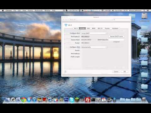 How to Port Forward on a Mac (Let People Join Your Server With an ip)