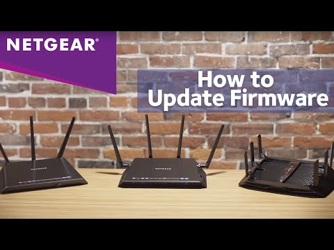 How to Update the Firmware on NETGEAR Nighthawk Smart WiFi Routers