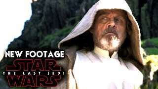 Star Wars The Last Jedi NEW Footage Revealed! Worlds Of The Last Jedi