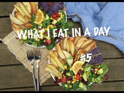WHAT I EAT IN A DAY #5 (vegan) | getting my period back