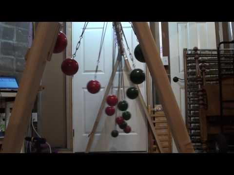 Bocce Ball Pendulum Snake Wave Machine 2
