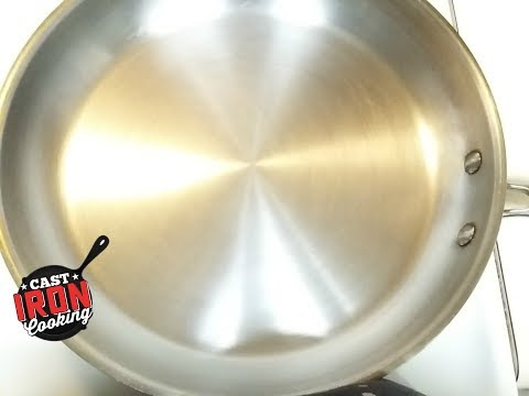 How To Season A Stainless Steel Pan Advanced