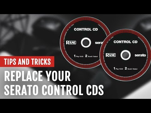 Replace Your Lost or Damaged Serato Control CDs | Tips and Tricks