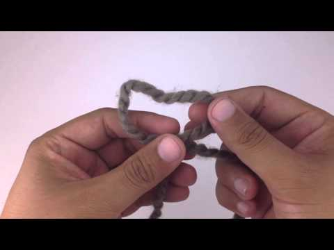 Knitting 101: How to Make a Slip Knot for Beginners [1 of 7]