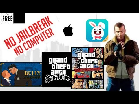 HOW TO INSTALL GTA SAN ANDREAS AND ROCKSTAR GAME FOR FREE ON IOS 9/10/11(NO COMPUTER) (NO JAILBREAK)