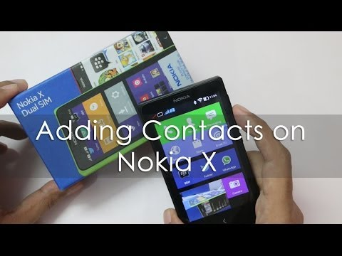 How to Transfer Contacts on Nokia X