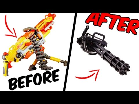 Nerf gun shoots REAL bullets | how to