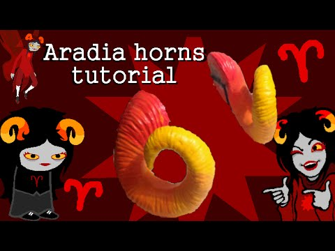 ♈ Aradia / Damara Megido Horn Tutorial ♈