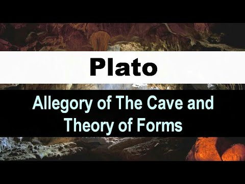Plato : Theory of Forms & The Allegory of the Cave ( Updated version in Hindi )