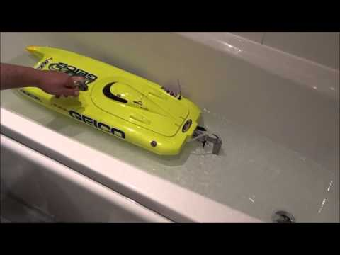 Rc boat cooling system cleaning