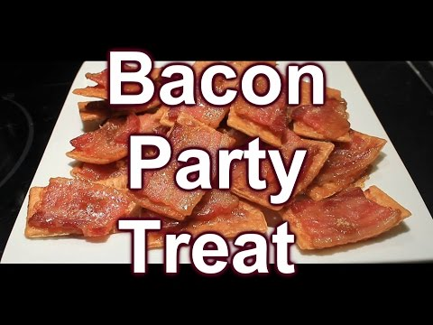 Super Easy Bacon Appetizer Treat or Party's & a Couple of Shout Outs
