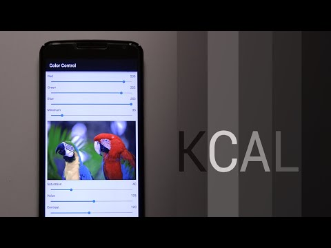 KCAL Color Calibration! (Nexus 6)