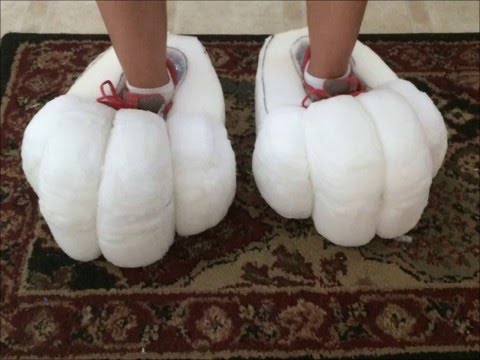 Big Foam Feet Paws