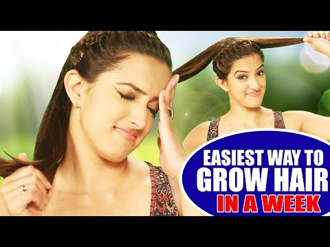 Easiest Way To Grow Long Hair In A Week | Tips For Growing Hair Fast (Night Routine)| Hair Tutorial