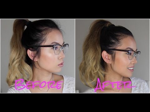 How to make your ponytail look fuller