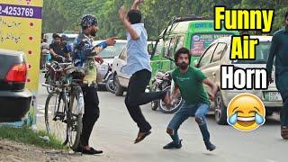 Funny Air H-O-R-N Prank - Pranks in Pakistan - LahoriFied