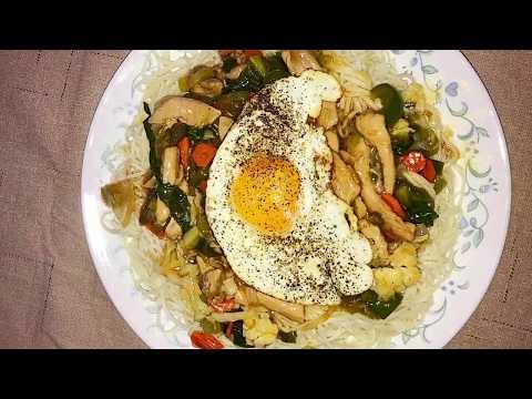 Chicken Gravy Noodles : Gravy Chowmein