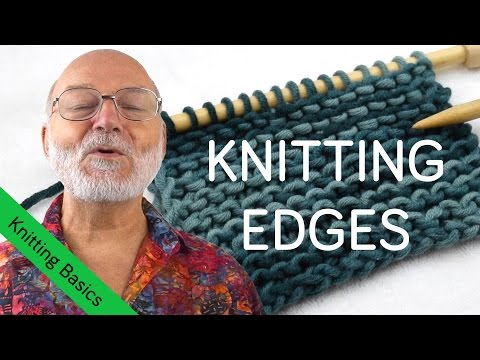 How to Knit Perfect Edges