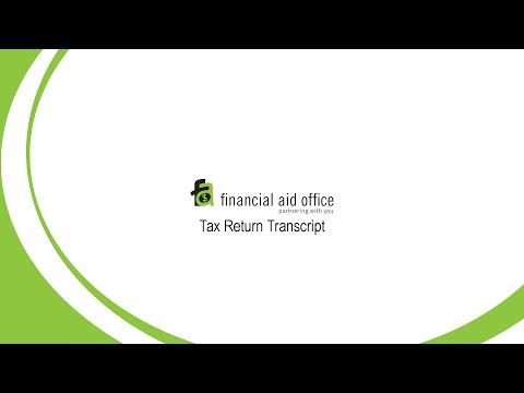 How to Request a Tax Return Transcript - Biola Financial Aid