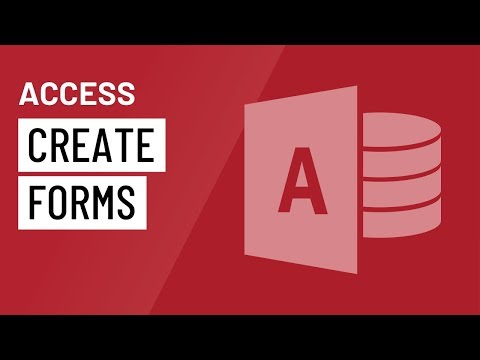 Access 2016: Creating Forms