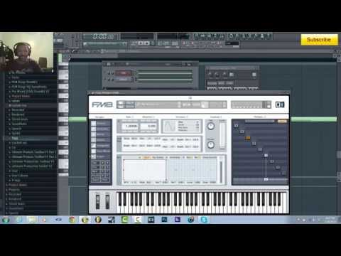 How to make Basic Skrillex Growl Bass in FM8 and Sytrus in FL Studio by ItzDifferentBeatz