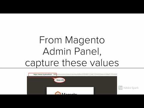 Magento 2 Mobile App configuration