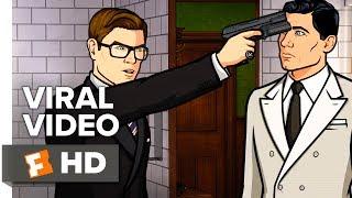 Kingsman: The Golden Circle Viral Video - That Time Archer Met Kingsman (2017)