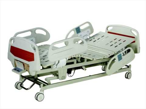 Electric Hospital Bed with Remote Control