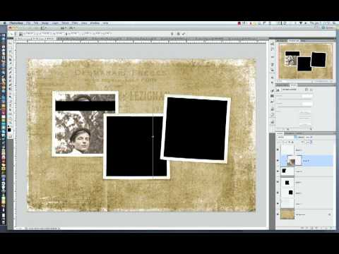 Use Clipping Masks with a Photo Template