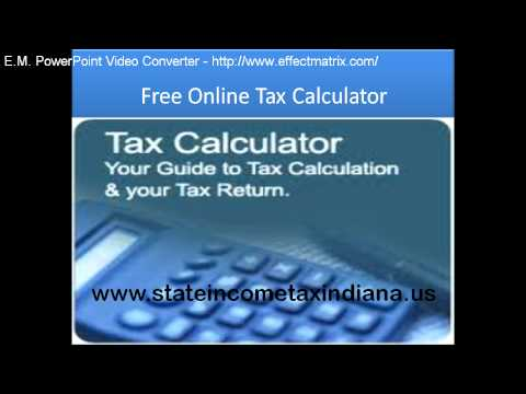 indiana state tax filing 2011.mp4