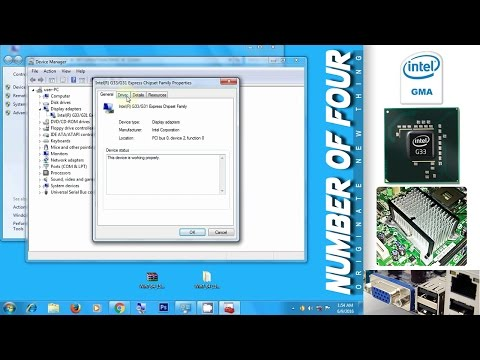 How to update Intel GMA 3100