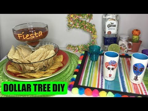 DOLLAR TREE DIY PARTY IDEAS | CINCO DE MAYO