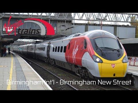 Virgin Trains Class 390 'Pendolino' | Birmingham International to Birmingham New Street