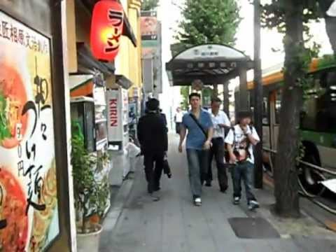 from Dennys to Shinagawa Prince Hotel