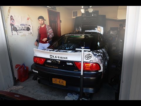 This S13 looks like a tank! Also I bought another 240sx