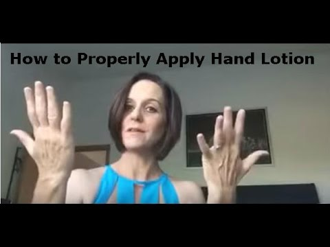 Beauty Tip Video: How to Properly Apply Hand Lotion