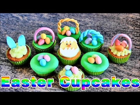 Super Simple Easter Cupcake Ideas | HappyFoods