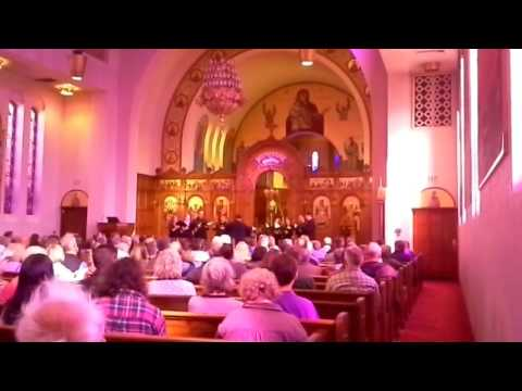 A Cappella Romana performance at the Holy Trinity Greek Orthodox Cathedral in Portland Oregon for th