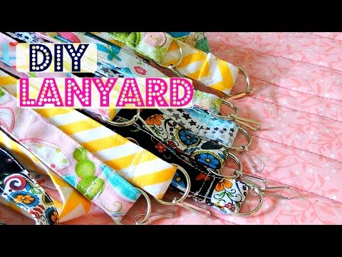 DIY Lanyard | Fat Quarter Project