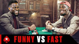 Kevin Hart Plays Usain Bolt at Challenge Poker | Part 1 | PokerStars