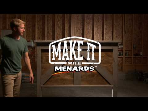 Make It With Menards - Woodworker John Melby