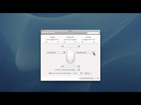 How to get a right-click button on a Mac mouse